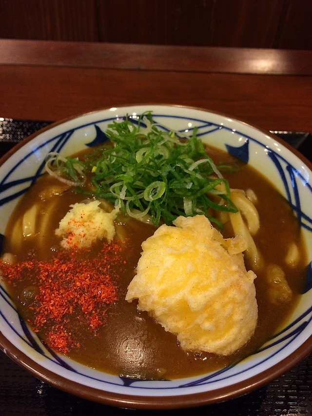 丸亀製麺カレーうどん
