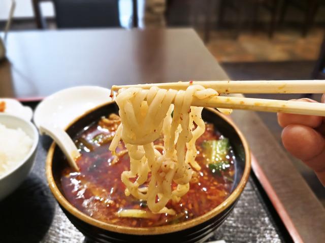 巴蜀 紅焼排骨麺4