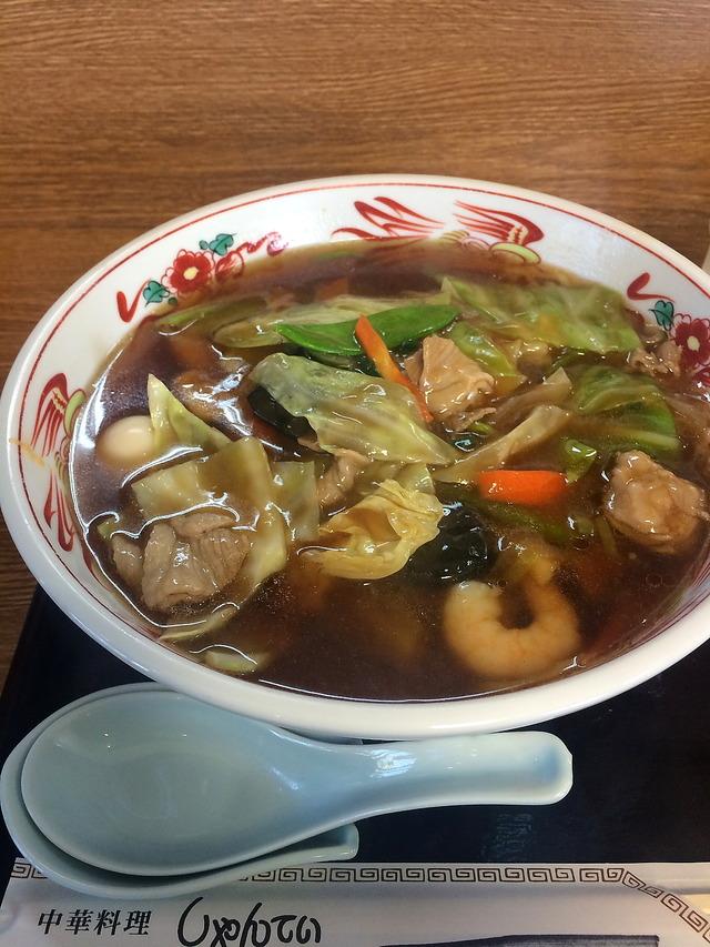 しゃんてい五目湯麺
