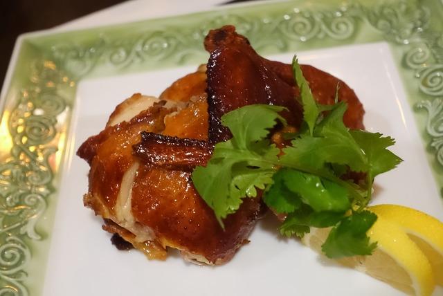 鶏の香味パリパリ揚げ