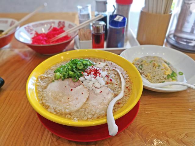 福間ラーメンろくでなし新宮店 限定麺2