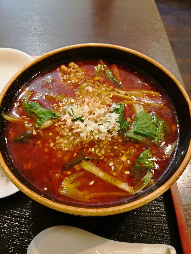 巴蜀 紅焼排骨麺