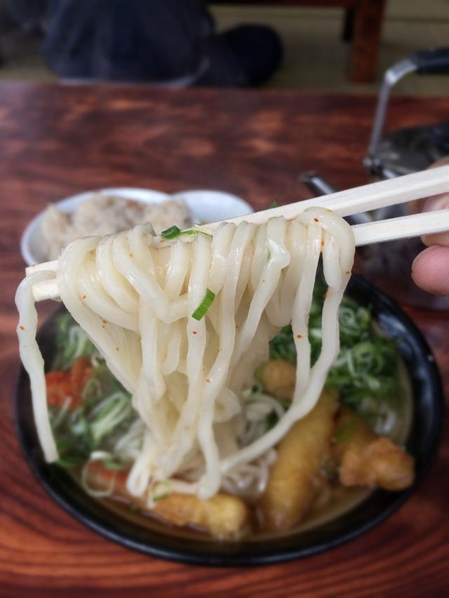 牧のうどん 細麺