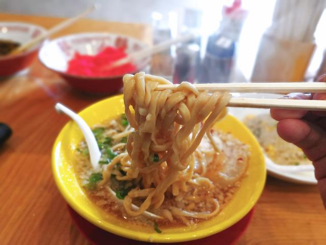 福間ラーメンろくでなし新宮店 限定麺4