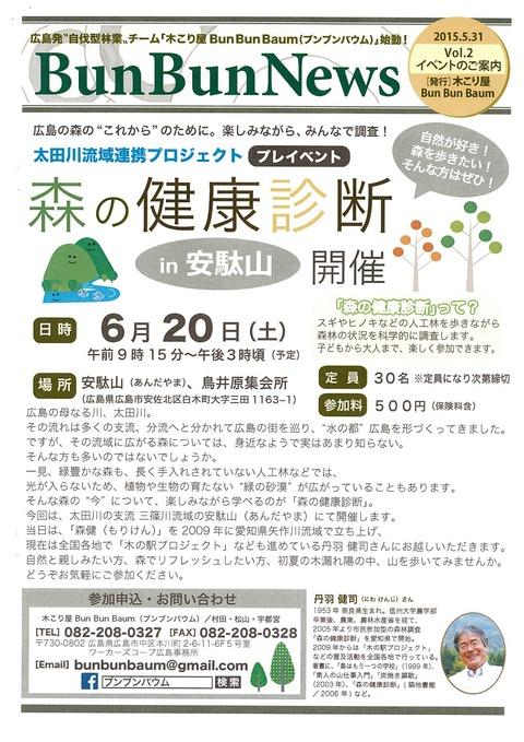 森の健康診断(1)