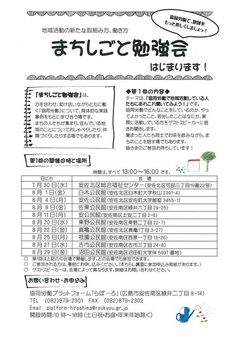 まちしごと勉強会(1)