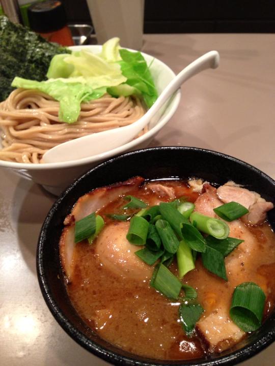 海老つけ麺@五ノ神製作所