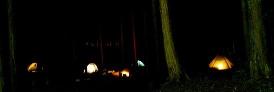 #趣 萬城の滝キャンプ場に行きました (初キャンプ)