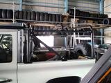 ディフェンダー幌車計画-ロールケージ位置調整後