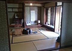 高井鴻山記念館、翛然楼二階はとても落ち着く部屋でした