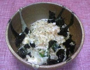 オクラと長芋のねばねば豆腐