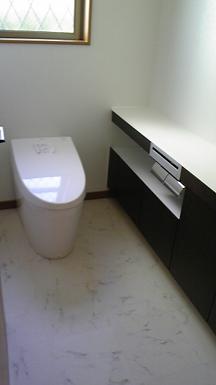 清掃後トイレ