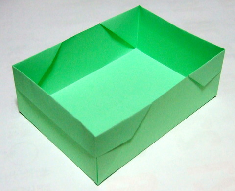 的 な 折り 方 サイズ 約 150 105 ... : a4 紙 箱 折り方 : 折り方