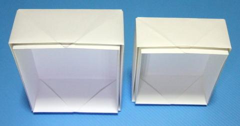 A4・B5用紙で蓋付き箱折り ... : a4用紙 箱 折り方 : 折り方