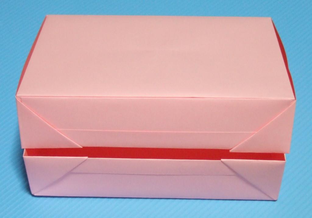 すべての折り紙 折り紙 箱 ふた付き 折り方 : 折り 方 は 後 で up 予定