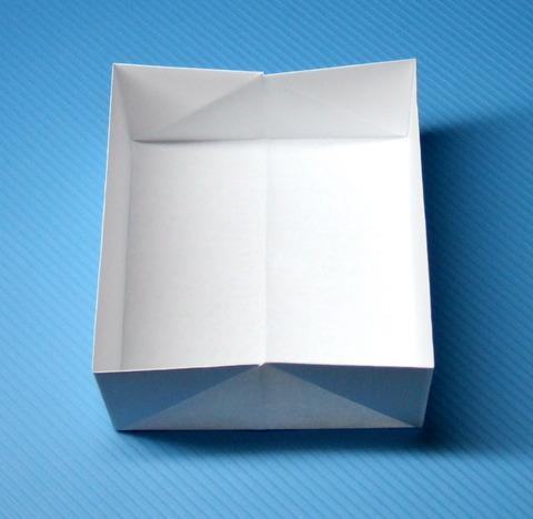 折りたたみ紙箱の折り方 ... : a4用紙 箱 折り方 : 折り方