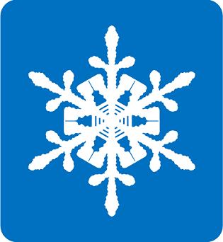 雪の結晶66%