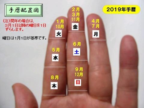 2019手暦