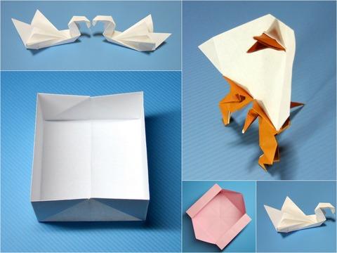 折紙コラージュ