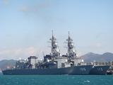 護衛艦いなづま&さざなみ  DD105&DD113