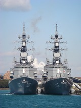 護衛艦いなづま&さざなみ  DD105&DD113 (2)