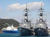 護衛艦いなづま&さざなみ  DD105&DD113 (5)