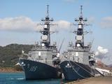 護衛艦いなづま&さざなみ  DD105&DD113 (4)