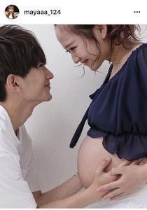 16歳で妊娠の重川茉弥、マタニティーフォトを公開