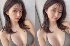 橋本萌花、グラビアポテンシャル激高! 顔も体も完璧な最新カット公開
