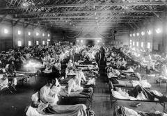 スペインかぜ、日本の総人口の4割が罹患 ワクチンなしでも3年で収束