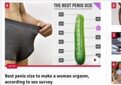 女性をイカせるのに最適なペニスサイズが判明! とんでもない結果に…日本男は完全敗北!
