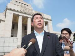 NHK会長、N国党首との面会拒否