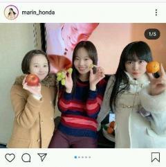 本田真凜、望結&紗来と久々の姉妹ショットを公開「美人三姉妹」など反響