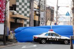 「れんがブロック使いけんか」顔殴られた男性死亡 JR尼崎駅南側の路上、40代くらいの男逃走