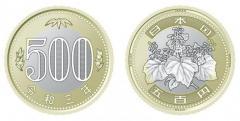 500円硬貨、偽造防止で2色に 21年度に発行予定、周知が課題