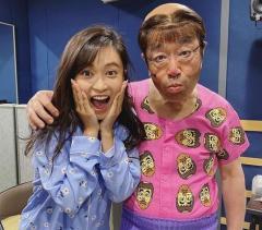 """小島瑠璃子、志村けんさんの""""最後の変なおじさん""""披露"""