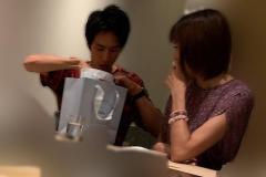 大林素子 22歳年下俳優との「寿司デート」で熱烈アタック