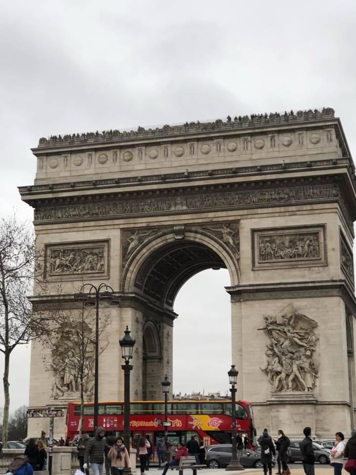 フランス5日目凱旋門」_1