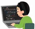 イラスト 男性プログラマー