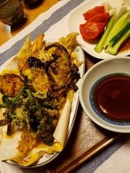夏野菜の天麩羅