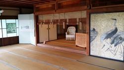 慶雲館 二階 奥明治天皇の部屋