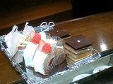 チョイスしたケーキ