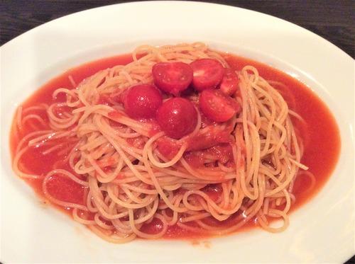 冷しトマトパスタ