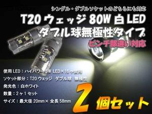 T20ダブル球80W白1