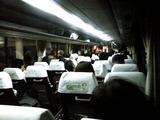 旭川空港→旭川駅 バス車内