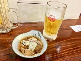 オリオン&肉豆腐