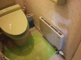 トイレのパネルヒーター