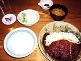ロースとんかつ定食1155円