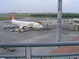 宮古島空港1機