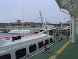 竹富への船